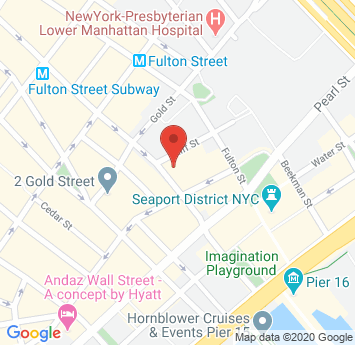 Google Map of Bamundo Zwal Schermerhorn & Caffrey LLP's Location